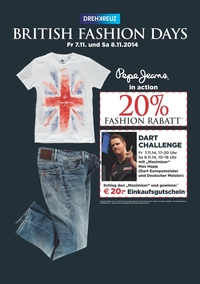 Pepe Jeans in Action: British Fashion Days