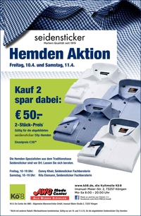 Seidensticker Hemden Aktion bei AWG Mode