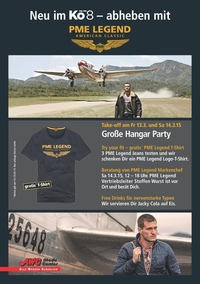PME Legend Hangar Party bei AWG Mode im Kö8